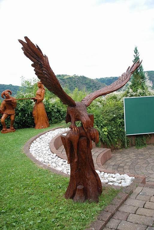Adler mit Fisch